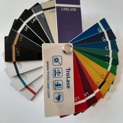 Цветовая палитра для маркировки